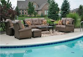 Round Patio Furniture Set by Patio Seating Sets Outdoorlivingdecor