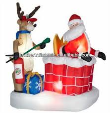 christmas inflatables outdoor santa in chimney santa in chimney suppliers