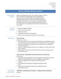 Sample Resume Objectives For Probation Officer by Business Correction Officer Job Description Job Description For