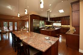 kitchens with two islands luxury kitchens with two islands kitchen craftsman with open