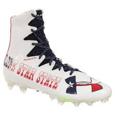 light blue under armour cleats under armour men s football cleats highlight mc le red white blue