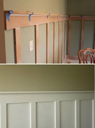 diy molding master bedroom between windows a less expensive way to have chair