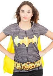batman cape suit up costume t shirt for women