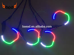 chevy dc12v halo ring kit 5050smd eye led chasing lights on