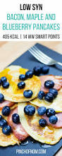 Blueberry Pancake Recipe Low Syn Bacon Maple And Blueberry Pancakes Slimming World
