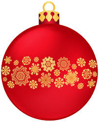 christmas cocktails clipart red christmas ball with snowflakes png clipart best web clipart