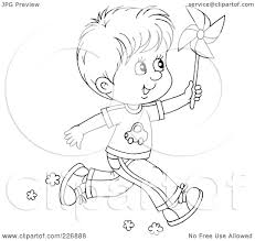 royalty free rf clipart illustration of a coloring page outline