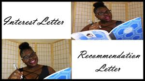 nphc sorority interest and recommendation letters youtube