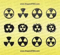 radiation symbol tattoos inspirational ink pinterest symbols