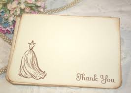 bridal shower thank you notes etiquette and sles bridal shower gratitude notes everafterguide