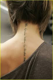 back of neck tattoos 20 jpg neck tattoos pinterest small