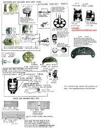 muffshardware com hoosier parts kitchen cabinet parts