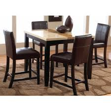 Dining Room Table Counter Height Trinity Dining Counter Height Table U0026 4 Chairs 2722 Dining