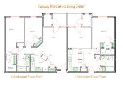 senior housing floor plans stewart property management conway pines senior livingconway nh