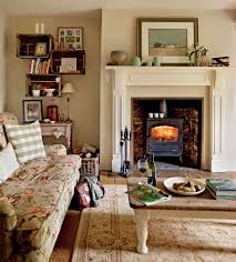 Cottage Style Living Rooms by A Restored Farmhouse In The Welsh Countryside Period Living