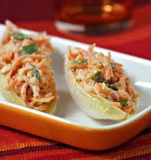 cuisiner le surimi endives farcies aux carottes et surimi les meilleures recettes de