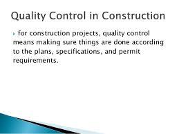construction quality management plan template 28 images 14