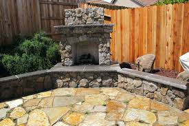 outdoor fireplace with built in tv gas above ideas pergola patio