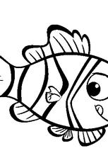 coloriage poisson d u0027avril 3 en ligne gratuit à imprimer