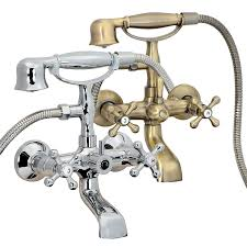 Vintage Clawfoot Tub Faucet Freuer Vasca Collection Classic Clawfoot Tub Faucet Wall Mount