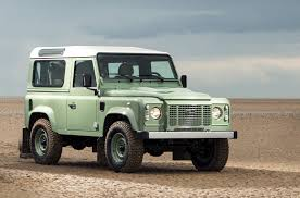 land rover defender vector silver
