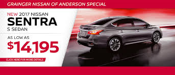 nissan car grainger nissan of anderson sc serving greenville easley u0026 greer