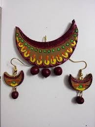 jute earrings 15 best terracotta jewellery images on jewelry