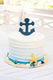 nautical cake nautical ombre cake b sweet