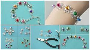 handmade flower bracelet images How to makes imple handmade flower bracelet for girls simple jpg