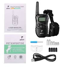 shock collar for dogs petist dog training collar with remote for
