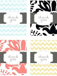 thank you cards wedding 17 gorgeous free printable wedding thank you cards