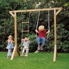 Swing Sets For Small Backyard by 102 Best Swing Set Images On Pinterest Outdoor Fun Backyard