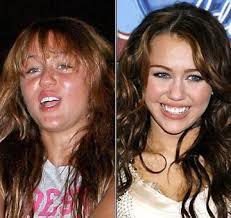 celebs without makeup before and after celebrities without makeup before and