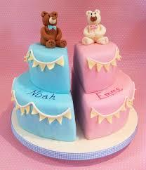 62 best twins baptism images on pinterest christening cakes