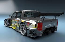 volkswagen race car volkswagen amarok gt3 concept cars diseno art