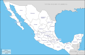 Map Of Durango Mexico by Map Of Mexico You Can See A Map Of Many Places On The List On