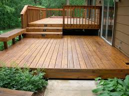 exteriors adorable small deck design for chic backyard with