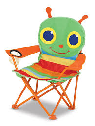 Toddler Folding Beach Chair Amazon Com Melissa U0026 Doug Sunny Patch Happy Giddy Outdoor Folding