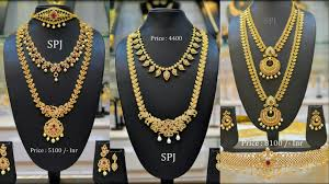bridal jewelry necklace set images Designer bridal jewellery set with price jpg