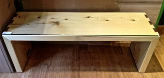 yellow cedar coffee table divine proportions the work of