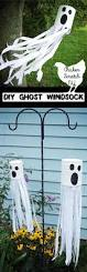 halloween ghost crafts diy tin can ghost windsock tin cans diy and crafts and tutorials