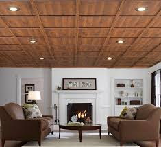 interior rustic basement ceiling ideas for lovely simple diy