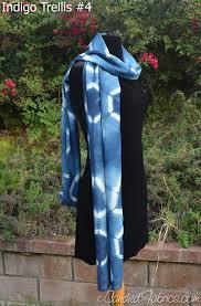indigo dyed scarves u2013 candied fabrics shop