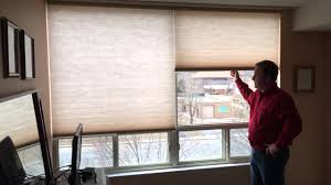 norman cordless cellular shades youtube