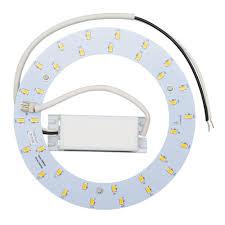 led circle light bulb aspects 22w equivalent warm white t9 dimmable led retrofit kit