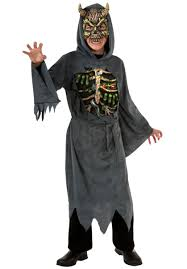 Skeleton Halloween Costume Kids Midnight Creeper Costume All Halloween Mega Fancy Dress