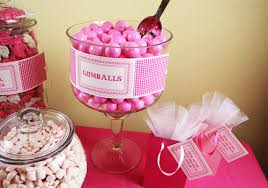 create a candy buffet for your wedding or party