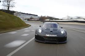 cars porsche 2017 porsche unveils 911 rsr successor new race car set to debut in