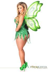 fairy costume for halloween green sequin tinkerbelle fairy corset halloween costume