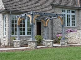 Oak Trellis Garden Gazebo Dirt Simple